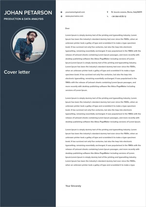 21 Cover Letter Free Sample Example Format Free Amp Premium Templates