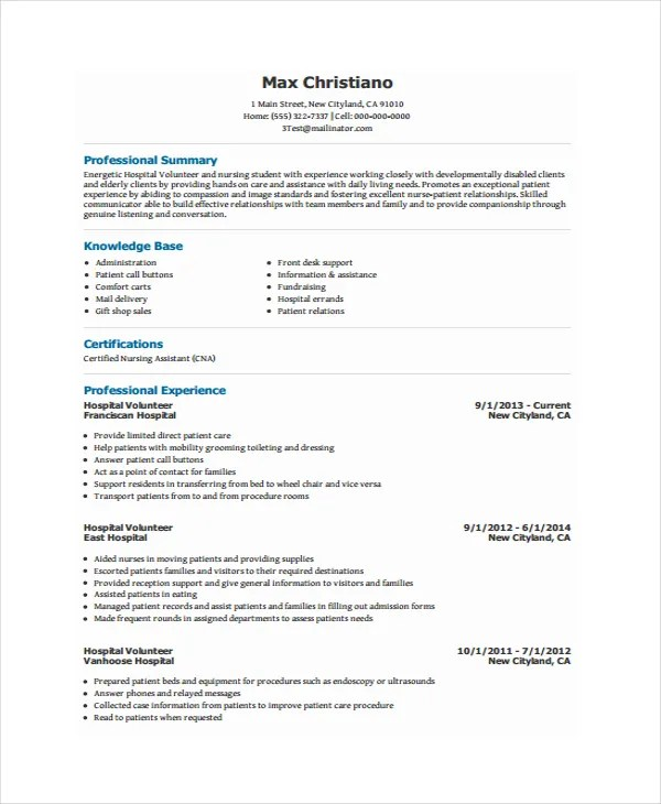 How To Write Volunteer Work On A Resume