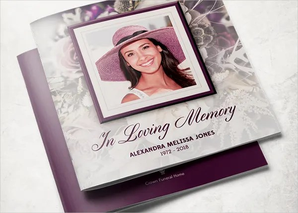 8 Funeral Program Template For A Friend Free PSD AI EPS Format Download Free Amp Premium