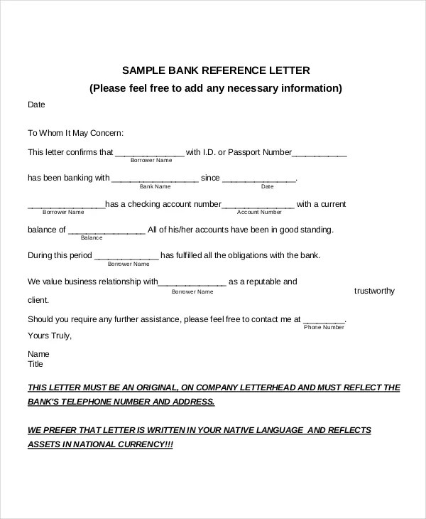 Recommendation Letter For Employment Regularization Reference – Template for Reference Letter