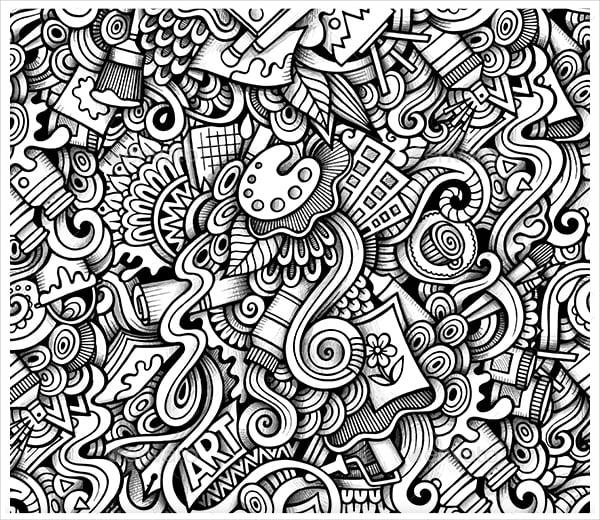 22 Imaginative Doodle Art Designs Free Amp Premium Templates