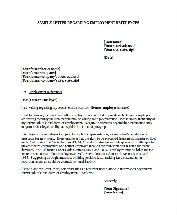 Domestic Worker Cover Letter