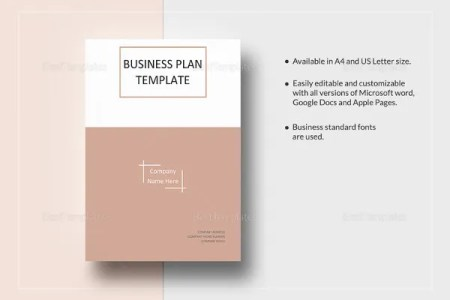 Restaurant Business Plan   12  Free PDF  Word Documents Download     Simple One Page Business Plan