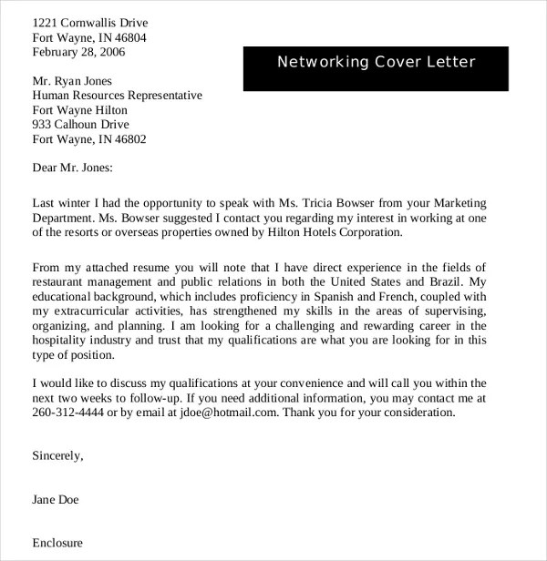 Ending A Cover Letter For An Internship - Cover Letter Templates