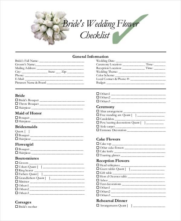 wedding decoration checklist pdf. Black Bedroom Furniture Sets. Home Design Ideas