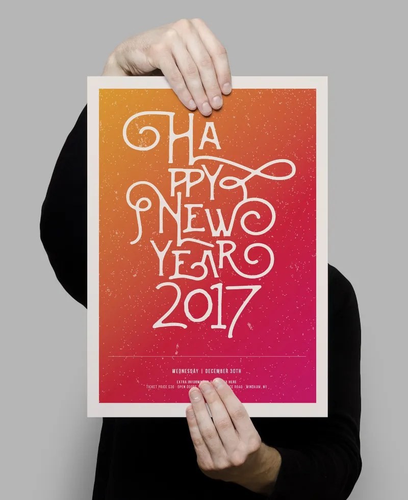 happy new year new poster