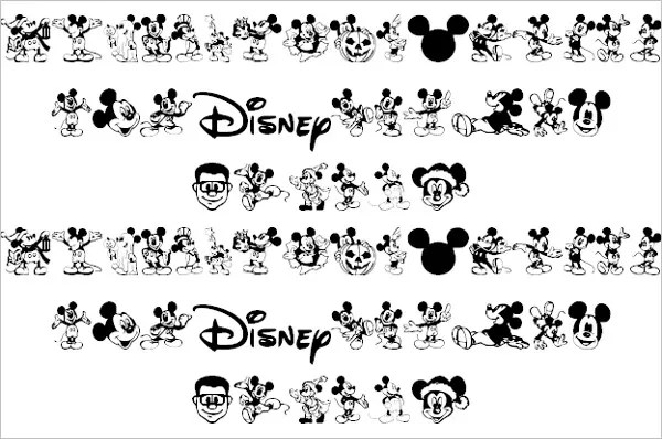 minnie mouse font minnie mouse font 6364