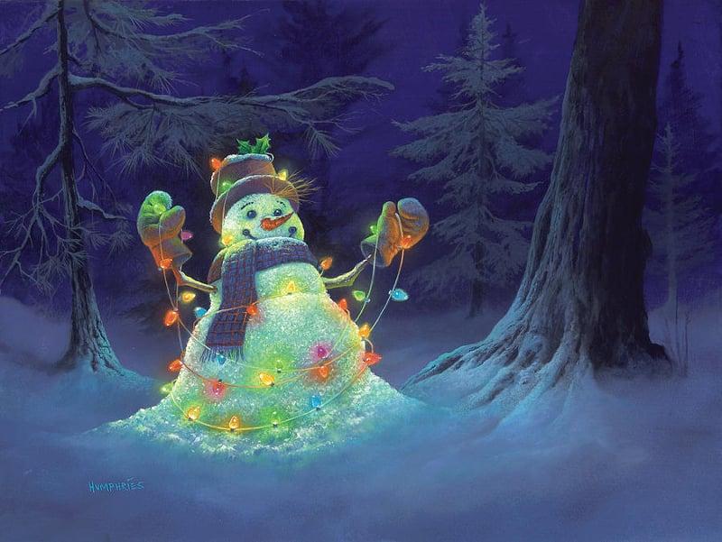 Christmas Light Artwork