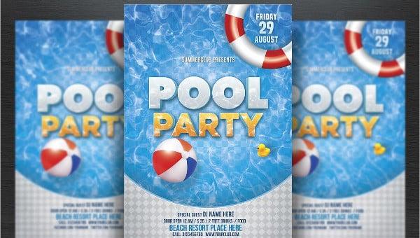 33 printable pool party invitations