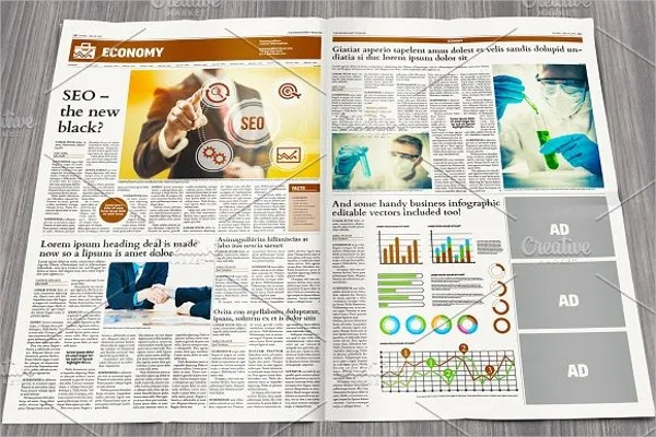 Newspaper Template 27 PSD Vector EPS PNG Format Download Free Amp Premium Templates
