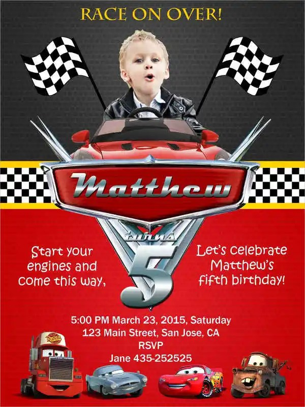 11 free printable birthday invitations