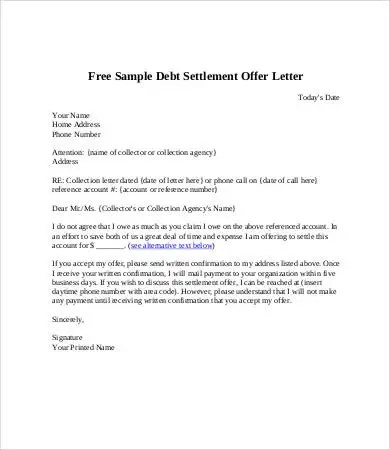Debt collection letter example uk for Debt collection letter templates free