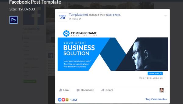 Facebook, however, provides a busi. 10 Facebook Ad Templates Business Discount Sale Motivation Free Premium Templates