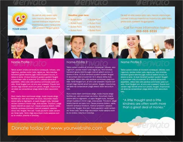 Fundraising Brochure Templates 12 Free PSD Vector AI EPS Format Download Free Premium