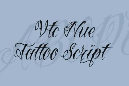 fancy cursive fonts a z