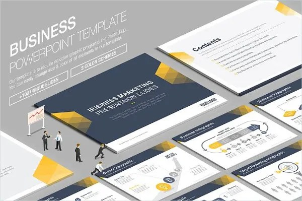 9  Awesome Business Powerpoint Templates   Free   Premium Templates Professional Business PowerPoint Template