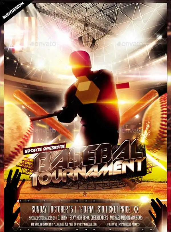 baseball flyer template word its your template