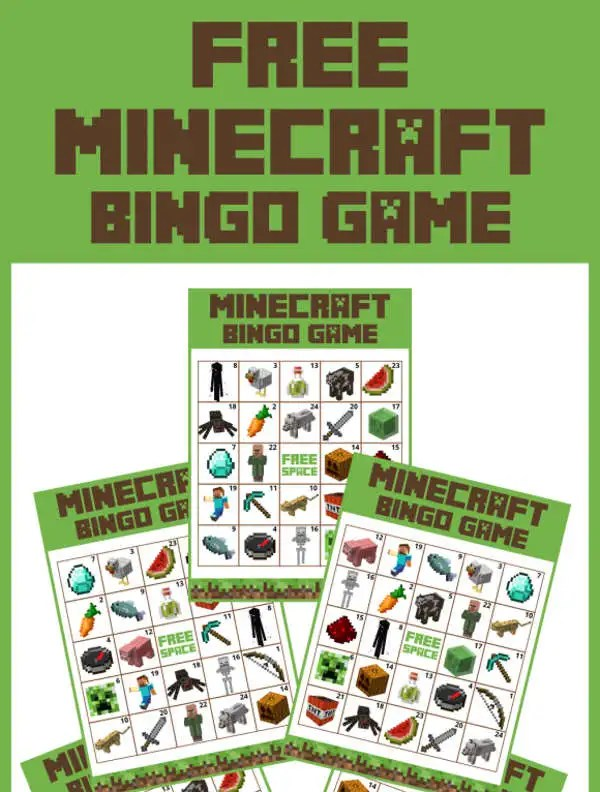 Free Minecraft Printables Psd Png Vector Eps Free Premium Templates