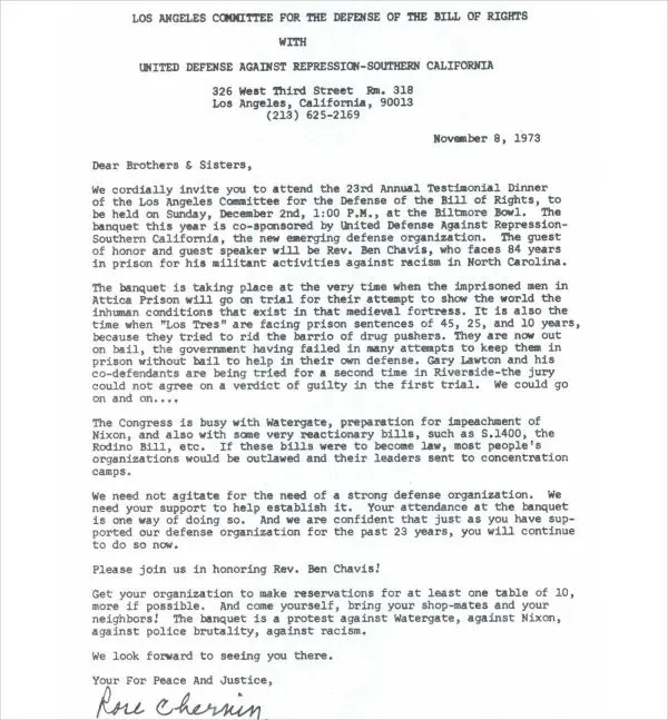 formal invitation letter for dinner Cogimbous