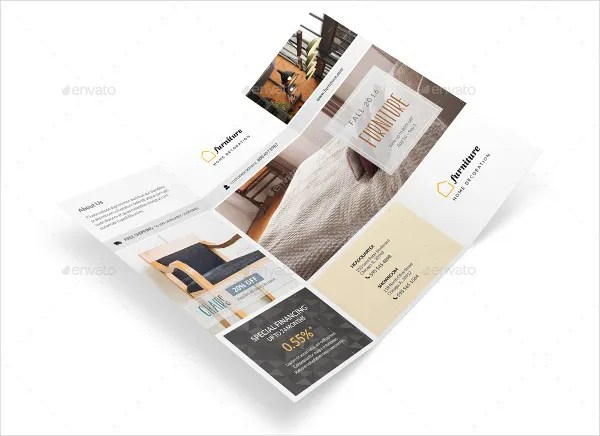 11 Furniture Brochures Printable PSD AI InDesign Vector EPS Format Download Free