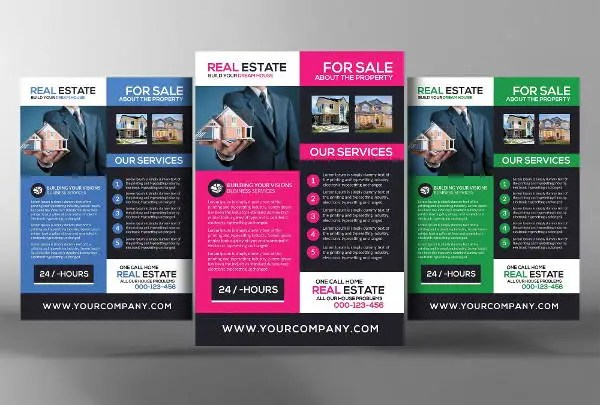 13 Realtor Flyers PSD Word AI EPS Vector Free Premium Templates