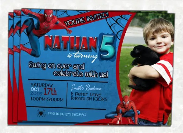 sample birthday invitation templates