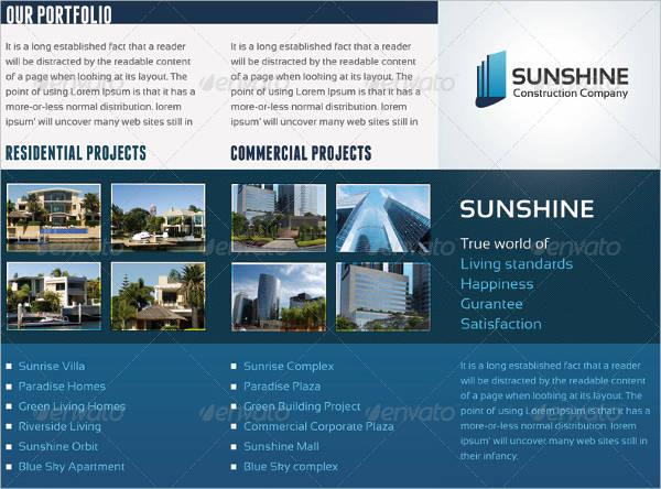 11 Construction Company Brochures Design Templates Free Premium Templates