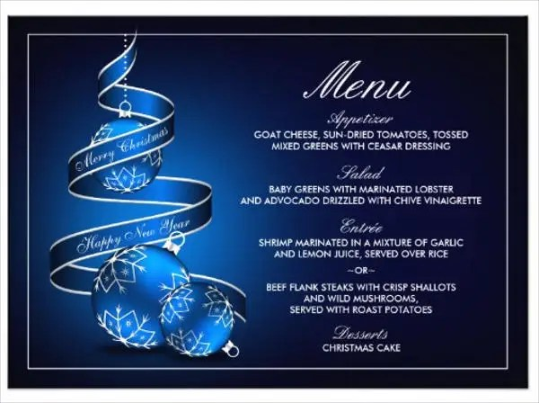 8 Dinner Party Menu Templates PSD AI Free Amp Premium