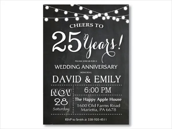 9 Anniversary Invitation Cards Psd Ai Vector Eps Free Amp Premium Templates