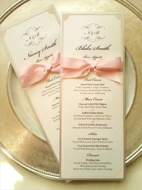 7 Wedding Reception Program Templates Psd Vector Eps Ai Awesome Simple Programs Invitation Wording