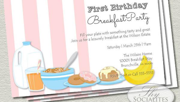 14 corporate breakfast invitations