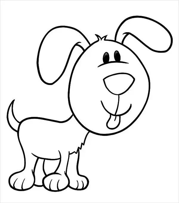 9 Puppy Coloring Pages Jpg Ai Illustrator Download Free Premium Templates
