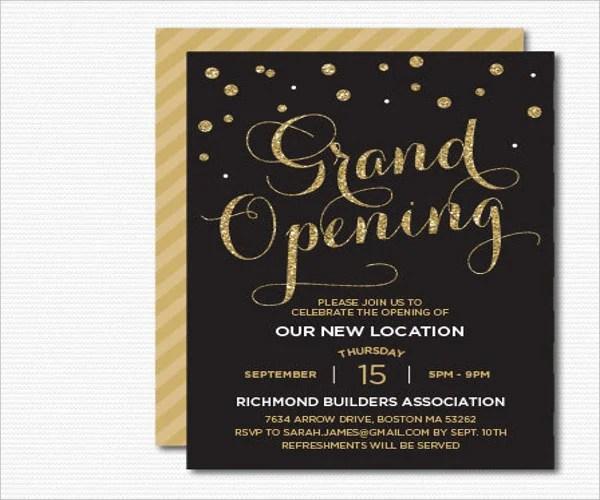 Office Opening Invitation Card Xv Gimnazija Tk