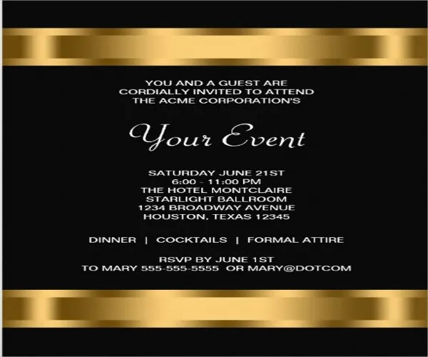 launching invitation card