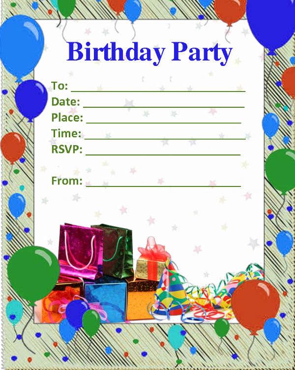 52 birthday invitation templates psd
