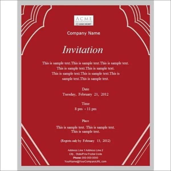 Meeting invitation card format cogimbo invitation card format for conference mangnthoai com stopboris Gallery