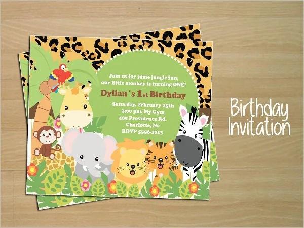 gym boy birthday party invitation templates