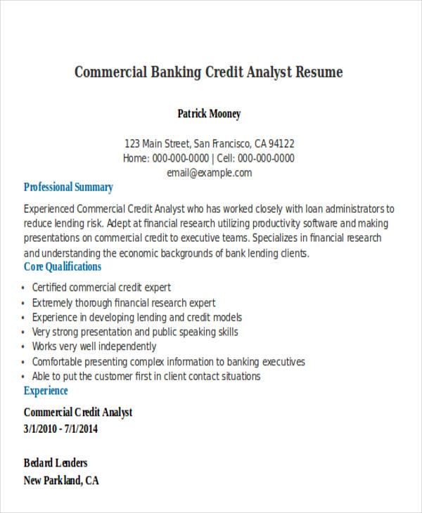 21 Banking Resume Templates Free Amp Premium Templates
