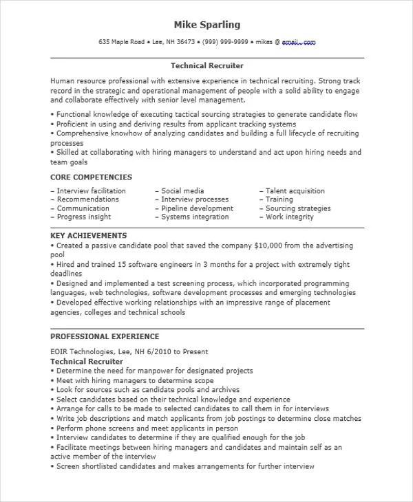 40 Simple IT Resume Templates PDF DOC Free Amp Premium Templates