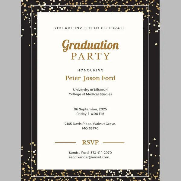 45 Graduation Invitation Designs Amp Templates PSD AI