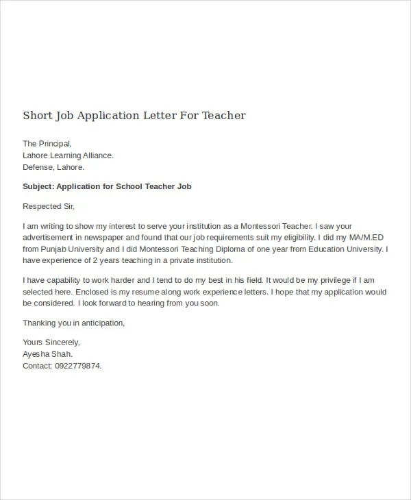 Bunch Ideas Of How To Cover Letter Pre Teacher With