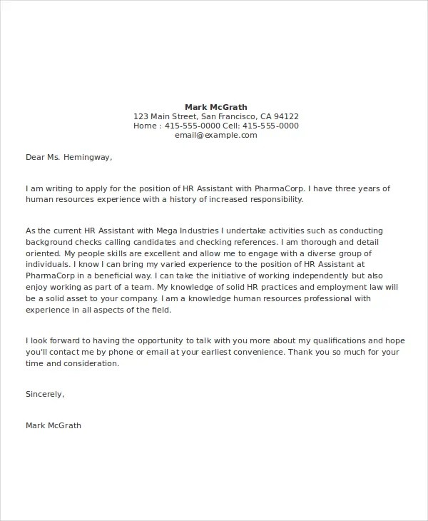 9 Cover Letter Templates And Examples Free Amp Premium Templates