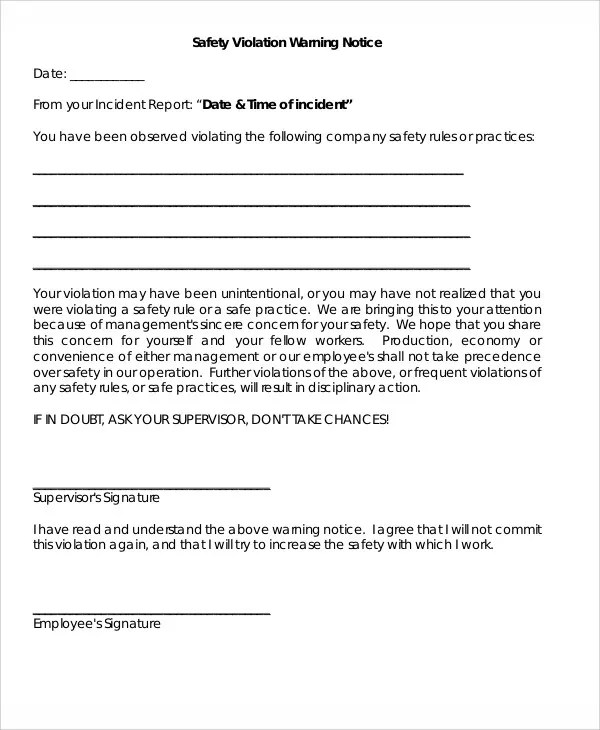 Site Safety Rules Template Choice Image - template design ...