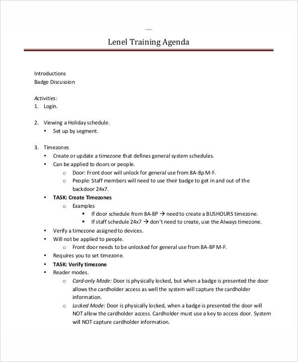 Agenda Schedule Templates 10 Free Word PDF Format Download Free Amp Premium Templates