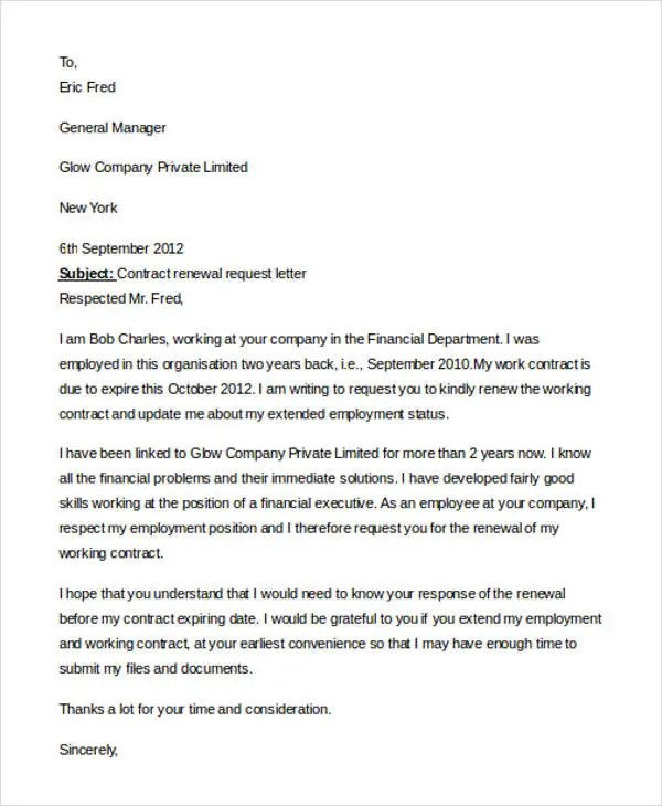 Cover letter for employment contract cover letter employment contract cover letter template sample spiritdancerdesigns Gallery
