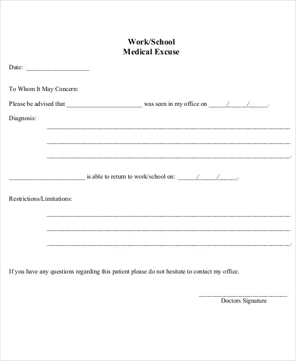Notes Dr Work Printable