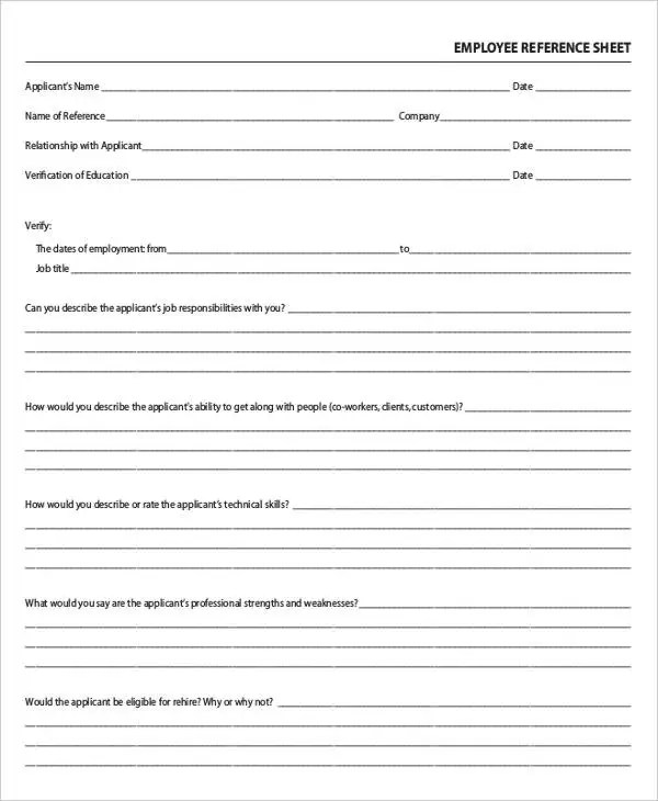 10 Job Sheet Templates