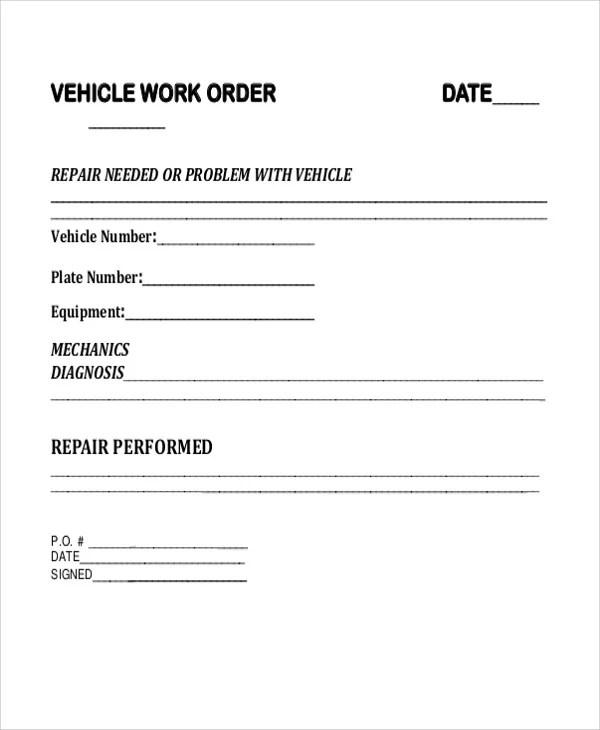7 Vehicle Order Templates Word Google Docs Free Amp Premium Templates