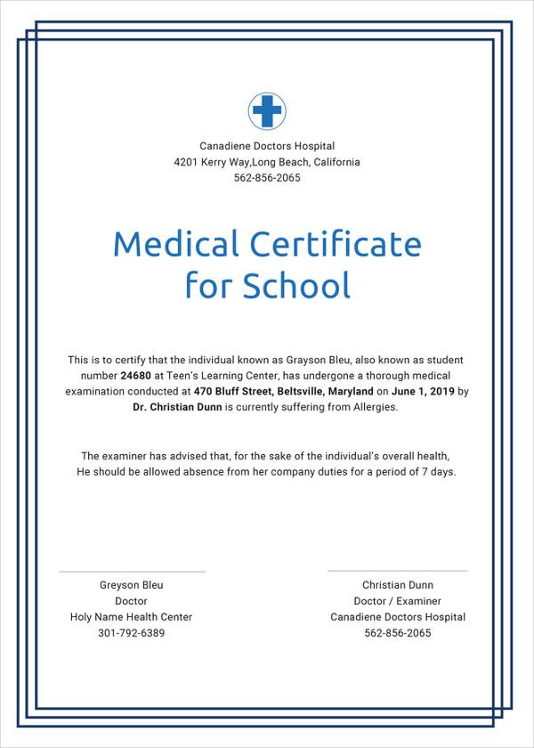 Physical Fitness Certificate Format For Job   Amatfitnessco