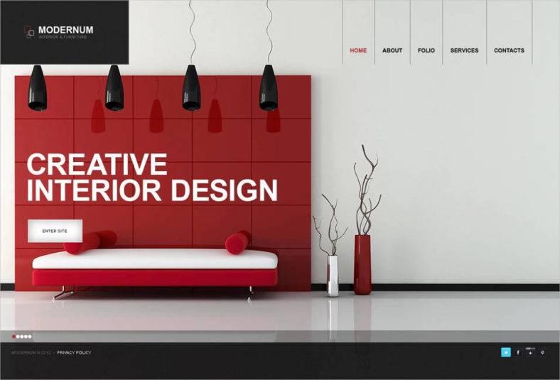 Archi Interior Design Wordpress Theme